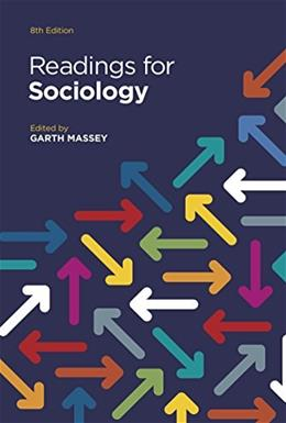 Readings for Sociology (Eighth Edition) 8 9780393938845