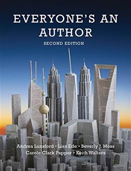 Everyones an Author (Second Edition) 2 9780393938951