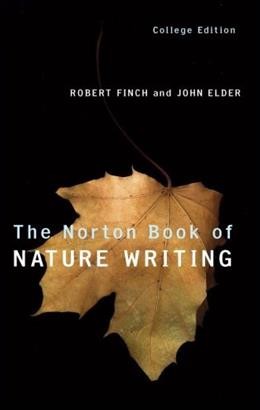 Norton Book of Nature Writing, by Finch, College Edition PKG 9780393946345