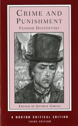 Crime and Punishment, by Dostoevsky, 3rd Norton Critical Edition 9780393956238
