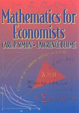 Mathematics for Economists 9780393957334