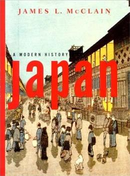 Japan: A Modern History, by McClain 9780393977202