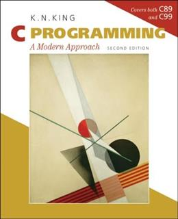 C Programming: A Modern Approach, 2nd Edition 9780393979503