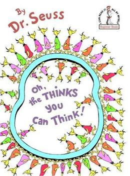 Oh, the Thinks You Can Think! Cover Worn 9780394831299