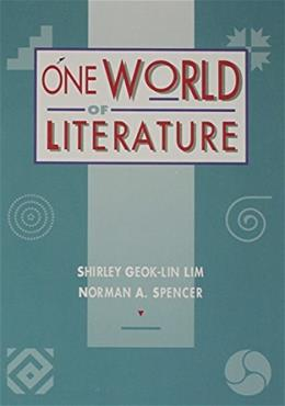 1 World of Literature, by Lim 9780395588802
