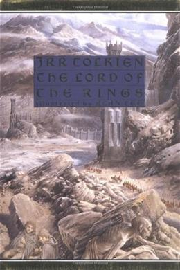 Lord of the Rings, by Tolkien, Illustrated Edition ILLUSTRATD 9780395595114