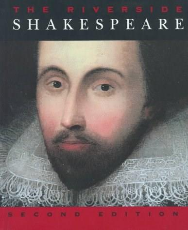 The Riverside Shakespeare, 2nd Edition 9780395754900