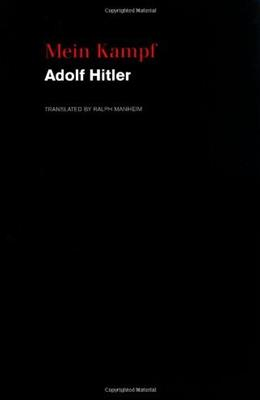Mein Kampf, by Hitler 9780395925034