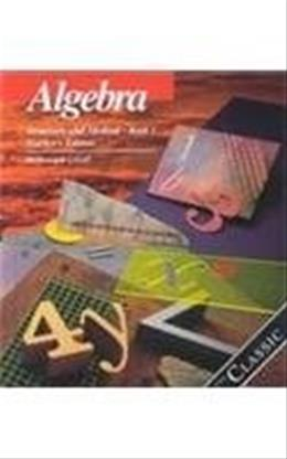 Algebra Structure and Method, by Brown, Grades 8-10, Book 1 9780395977231