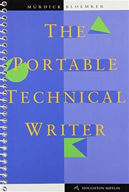 Portable Technical Writer, by Murdick 9780395986332