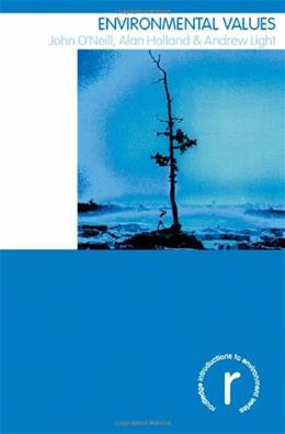 Environmental Values, by O