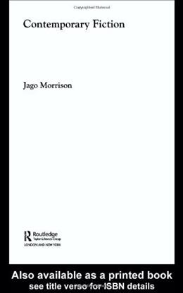 Contemporary Fiction, by Morrison 9780415194563