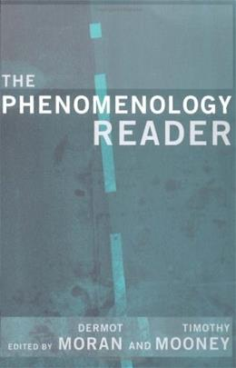 Phenomenology Reader, by Moran 9780415224222