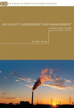Air Quality Assessment and Management: A Practical Guide, by Harrop 9780415234115