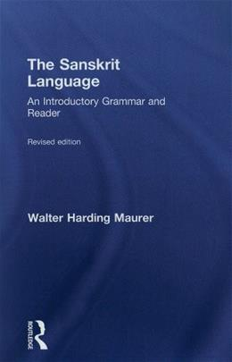 Sanskrit Language, by Maurer 9780415491433