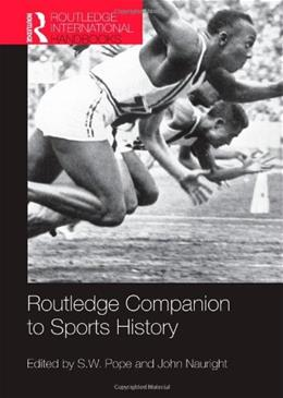 Routledge Companion to Sports History, by Pope 9780415501941