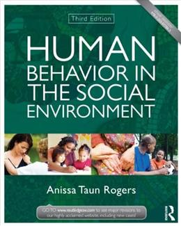 Human Behavior in the Social Environment (New Directions in Social Work) 3 9780415504829