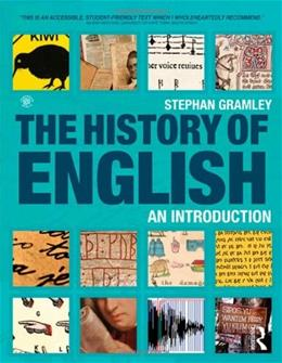 History of English An Introduction, by Gramley 9780415566407