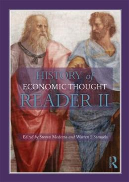 History of Economic Thought Reader, by Medema, 2nd Edition 9780415568685