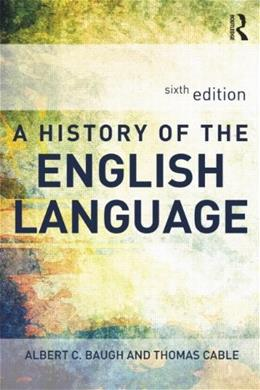 A History of the English Language 6th Revise 9780415655958