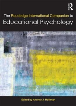 Routledge International Companion to Educational Psychology, by Holliman 9780415675604