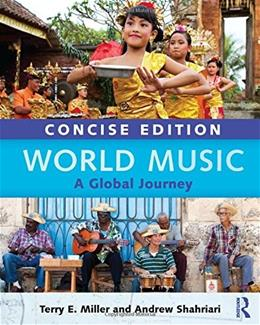 World Music Concise Edition: A Global Journey - Paperback & CD Set Value Pack BK w/CD 9780415717816