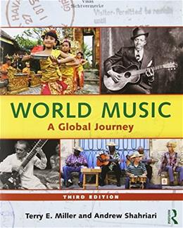 World Music: A Global Journey - Paperback & CD Set Value Pack 3 w/CD 9780415808231