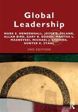 Global Leadership, Research, Practice, and Development, by Mendenhall, 2nd Edition 9780415808866