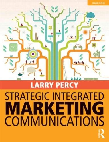 Strategic Integrated Marketing Communications, by Percy, 2nd Edition 9780415822091