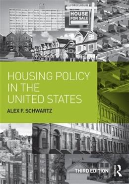 Housing Policy in the United States 3 9780415836500