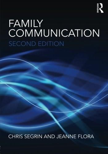 Family Communication, by Flora, 2nd Edition 9780415876346