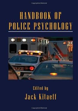 Handbook of Police Psychology, by Kitaeff 9780415877664
