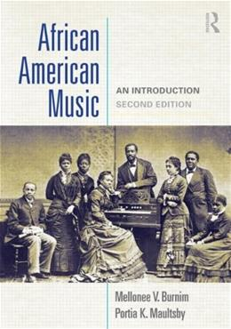 African American Music: An Introduction 2 9780415881807