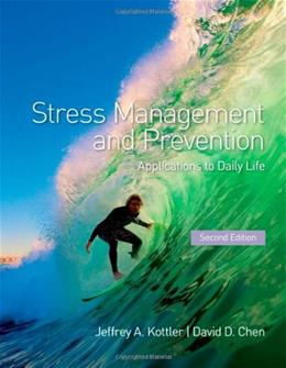 Stress Management and Prevention: Applications to Daily Life 2 9780415885003