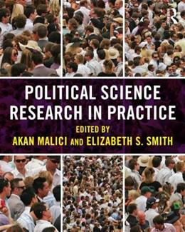 Political Science Research in Practice, by Malici 9780415887731