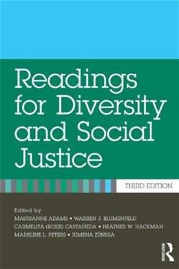 Readings for Diversity and Social Justice 3 9780415892940