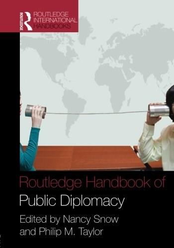 Routledge Handbook Public Diplomacy, by Snow 9780415953023