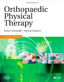Orthopaedic Physical Therapy, by Donatelli, 4th Edition 9780443069420