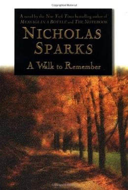 Walk to Remember, by Sparks 9780446525534