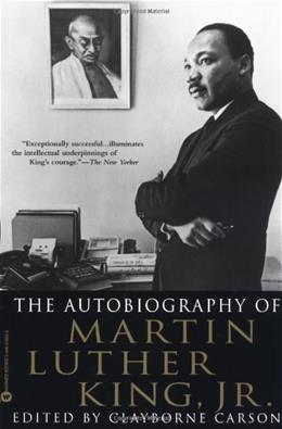 Autobiography of Martin Luther King, Jr, by Carson 9780446676502