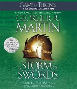 Storm of Swords: A Song of Fire and Ice, by Martin, Book 3, 39 CD-ROM Audiobook 9780449011904