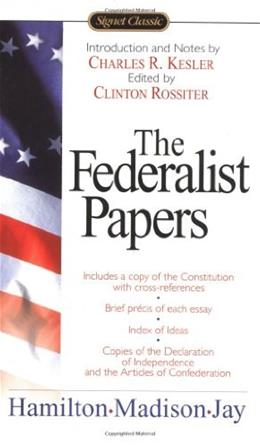 Federalist Papers, by Hamilton 9780451528810