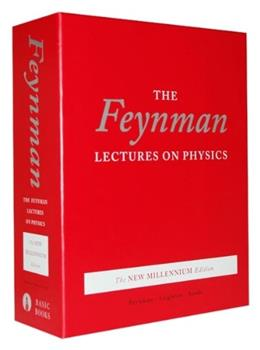 Feynman Lectures on Physics, by Feynman, The New Millennium Edition, 3 VOLUME SET PKG 9780465023820