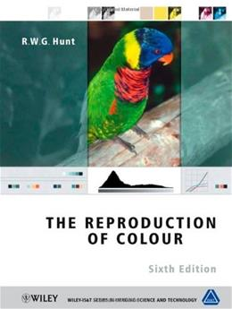 Reproduction Of Colour, by Hunt, 6th Edition 9780470024256