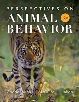 Perspectives on Animal Behavior 3 9780470045176