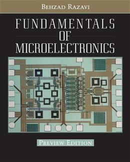 Fundamentals of Microelectronics, by Razavi 9780470072929