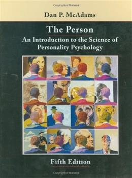 The Person: An Introduction to the Science of Personality Psychology 5 9780470129135