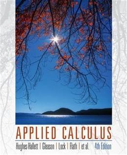 Applied Calculus 4 9780470170526