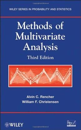 Methods of Multivariate Analysis, by Rencher, 3rd Edition 9780470178966
