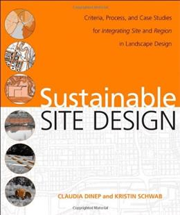 Sustainable Landscape Architecture, by Dinep 9780470187838